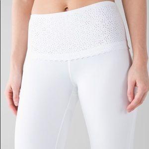 Lululemon Free Spirit Pant- White